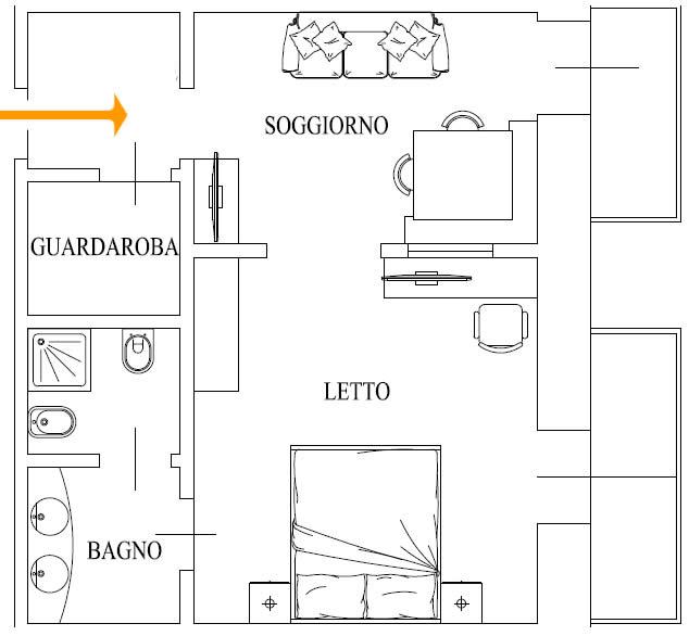 Suite in hotel trentino albergo a san martino di castrozza grand hotel des alpes - Porche da letto ...